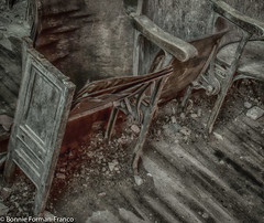 20180523-OLD and DECAYED & COOPER SCHOOL_BFF_8458_HDR-2 (Bonnie Forman-Franco) Tags: chairs abandonedchairs abandoned abandonedphotography abandonedphoto abandonedphotos abandonedschool photoladybon bonnie photography photographybywomen photos oldanddecayed old decayed nikon hdr nikonphotography d750