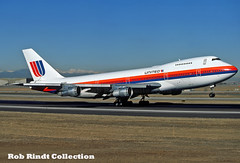 United Airlines B747-122 N4720U (planepixbyrob) Tags: united unitedairlines airlines boeing 747 747100 n4720u den denver stapleton kodachrome saulbass