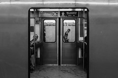 The Mexico City Subway (Frederik Trovatten) Tags: subway subwaystation metro fineart fineartphotography streetphotography street streetphoto streetphotographer fuji fujifilm x100f blackandwhitephotography train station trains bnw black white blackandwhite