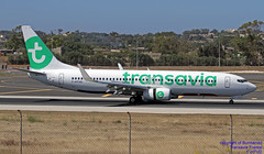 F-HTVD LMML 09-06-2018 (Burmarrad (Mark) Camenzuli Thank you for the 12.2) Tags: airline transavia france aircraft boeing 7378k2 registration fhtvd cn 62154 lmml 09062018