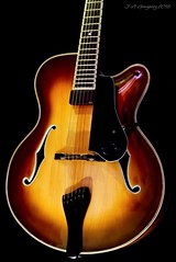 Jazz Guitar  3 (J.A.Glz) Tags: cotta guitars guitarra jazz luthier archtop