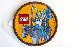 Ninja/Samurais woven patch (BF Bricks) Tags: lego ephemera collectible patch sew embroidered 90s 80s