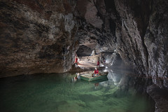 Wookey1 (ChunkyCaver) Tags: wildwookey wookeyhole caving caver cave spelunking showcave water boat fun adventure