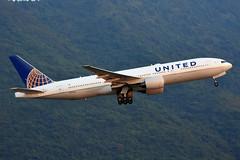 United Airlines N773UA (Howard_Pulling) Tags: hongkong airport hkia air airlines aviation hk howardpulling aeroplane china