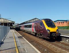 220021 Newton Abbot (1) (Marky7890) Tags: xc 220021 class220 voyager 1v54 newtonabbot railway devon devonmsinline train