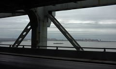 Verrazano Bridge 86 (stevensiegel260) Tags: bridge verrazanobridge newyork barge tugboat