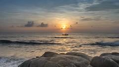 Sunrise (Aravindan Ganesan) Tags: sonya7iii sonya7 fishermen fishing sunrise kovalam ecr neithal chennai sigma35mm sigmaartlens