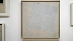 Malevich, Suprematist Composition: White on White