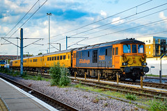 73965 + 73962 - Cambridge - 02/06/18. (TRphotography04) Tags: gb railfreight gbrf shoeboxes 73965 tnt with 73962 dick mabbutt stand cambridge receptions sidings after working 1q80 1315 tonbridge west yard reception roads they were booked sunday do tour around anglia area but unfortunately didnt because defective rolling stock