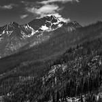 When I Look To The Mountains (Black & White, Lake Chelan National Recreation Area) thumbnail