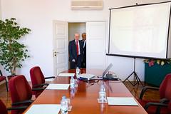 Reunião no Centro de Estudos Judiciários