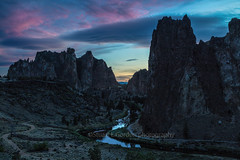End of Day (chasingthelight10) Tags: events photography landscapes canyons highdesert nature vistas rivers sunsets sunset places centraloregon oregon smithrock smithrockstatepark crookedriver