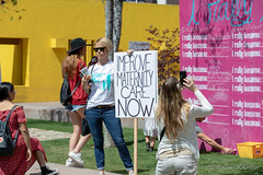 MOMS March LA (kengikat40) Tags: momsmarchla lamomsmarch pershingsquare paidmaternityleave maternalhealth birthscreenings listentothemother irallybecause losangeles dtla downtownla downtownlosangeles mylifethroughmylens documentinglife documenting rally mother ma mom mommy baby child infant