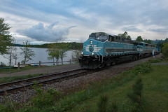 Job 1 by Long Pond (jc_canon) Tags: centralmainequebec centralmainequebecrailway cmq job1 1 jackmanmaine mooseheadsub moosehead cmq1006 geac4400cw ge ac4400cw train freight freighttrain