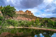 Zion_009-HDR (allen ramlow) Tags: zion national park utah springdale nature rock mesa beauty landscape sonya7iii