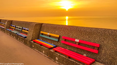 Sunset over Liverpool Bay (Phil Longfoot Photography) Tags: sunset wirral thewirra peninsula nature naturalbeauty promenade mersey liverpool merseyside goldenhour golden hour