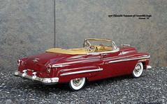 1950 Oldsmobile Futuramic 98 Convertible Coupe (JCarnutz) Tags: 143scale diecast madison 1950 oldsmobile futuramic ninetyeight
