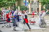 ghosts of Luxembourg (albyn.davis) Tags: manipulation luxembourg dancers dancing culture people movement action colors red ghosts doubleexposure