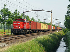 DBC 6425 (jvr440) Tags: trein train spoorwegen railroad railways oisterwijk db deutsche bahn cargo 6400