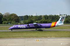 G-JEDP de Havilland Canada DHC-8-402 Dash 8, flybe, Edinburgh Airport, Edinburgh, Scotland (Kev Slade Too) Tags: gjedp dehavillandcanada dhc8 dash8 bombardier flybe spiritofbelfast be294 egph edinburghairport edinburgh scotland