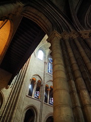 P5270964 (photos-by-sherm) Tags: notre dame cathedral paris france summer interior organ music chapels statues artwork carvings windows people