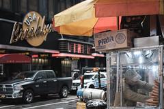 New York Pretzel (GeraldGrote) Tags: cars city newyork streetfood manhattan usa street us