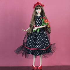 1 (halscary) Tags: poppy parker doll disney dolls barbie boneca barbiestyle integrity toys fashion royalty nuface coney island