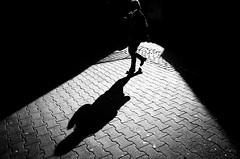 (formwandlah) Tags: kaiserslautern sunny day winter street photography streetphotography shadow selfie schatten dark noir urban candid city strange gloomy cold melancholic melancholisch darkness light bw blackwhite black white sw monochrom high contrast ricoh gr pentax formwandlah thorsten prinz licht shadows paranoia monochromatic fineart decisive moment silhouette