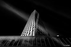Lithium (Holger Glaab) Tags: frankfurtammain frankfurt architecture blackandwhite monochrome building ezb ecb fineart travel longexposure city urban skyscraper