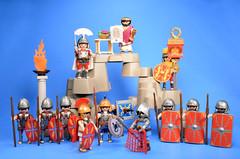 Playmobile Roman Soldiers (FranMoff) Tags: roman playmobil soldiers gladiator 4271 7880 5817 4659 4277