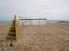 steps (auroradawn61) Tags: sandbanks beach coast poole june dorset sand 2018 lumixgx80 steps nets volleyball england uk spade