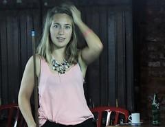 Urban portrait (carlos_ar2000) Tags: retrato portrait bar billar billiards chica girl mujer woman bella beauty sexy calle street linda pretty gorgeous buenosaires argentina