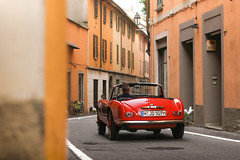 507 (danielzizka) Tags: bmw 507 bmw507 classic car classiccar vintage red italy villadeste bmwclassic