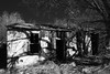 crumbling (Tomás Harrison Fotos) Tags: ghosttown d750 ngc torrancecounty blackandwhite encino abandoned nikon ushwy285 afnikkor24mmf28d availablelight nm dying usa