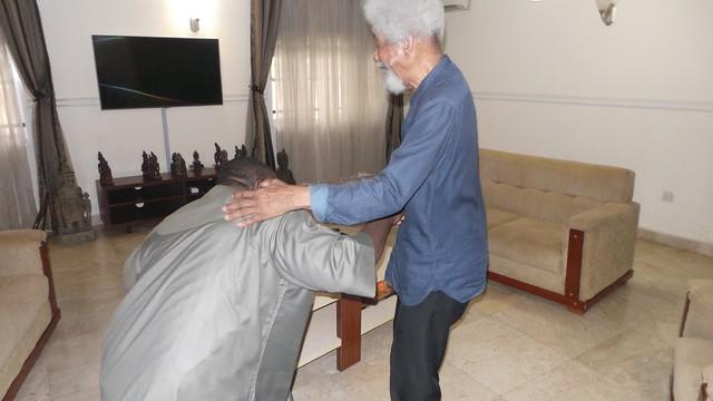 HSDickson Visit to Chief Wole Shoyinka & Gen. Gowon. 17th July 2017