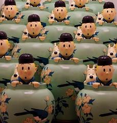 Tintin  Kuifje (DirkVandeVelde back , and catching up) Tags: europa europ europe belgie belgica belgique belgium antwerpen antwerp anvers mas museum kuifje tintin herge sony