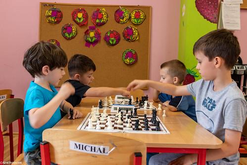 VIII Turniej Szachowy o Mistrzostwo Przedszkola Europejska Akademia Dziecka-11