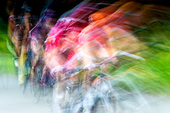 the chasing pack (sjtphotographic) Tags: ifttt 500px womens racing tour britian cycling bike bicycling race slow shutter speed colourful