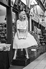 Beauty for Sale, Inverness (1 of 1) (johnawatson) Tags: inverness scotland blackandwhite monochrome urban street scottishhighlands people