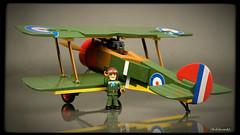 COBI Sopwith F.1 Camel (Kobikowski) Tags: cobi lego great war fighter biplane aircraft british arthur roy brown