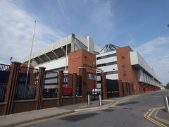 Liverpool FC Anfield Stadium Walkaround Liverpool May 2018 D (symonmreynolds) Tags: liverpoolfc anfieldstadium walkaround football soccer ynwa youllneverwalkalone liverpool may 2018
