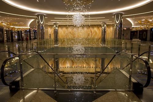 Escalator at Jumeirah Hotel, Abu Dhabi
