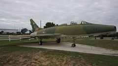 North American NA-243 F-100F-15-NA Super Sabre in Big Spring (J.Comstedt) Tags: north american na243 f100 super sabre usaf 563982 aircraft aviation aeroplane museum airplane us force big spring texas hangar 25 usa air johnny comstedt