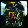 Glass skull (rustman) Tags: glass bottle skull light reflection refraction transparent vintage art craft square color colorful saturated urbanacid pentax istd kodak duaflex2 ttv throughtheviewfinder texaslife