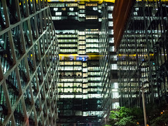 International (Daveography.ca) Tags: night building australia buildings sydney nsw lights vista skyscraper highrise towers walls officebuildings officebuilding terminatedvista cbd tower city light downtown