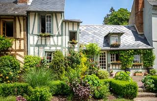 Le Bec-Hellouin, Normandy