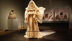 WEDDING ENSEMBLE autumn winter YSL The MET(6) (rverc) Tags: metropolitanmuseumofart heavenlybodiesfashionandthecatholicimagination yvessaintlaurent