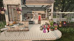 #21- Grow, Cook, Repeat (Rhea's Rooms) Tags: secondlife sese basil refuge thearcade illuminate fameshed
