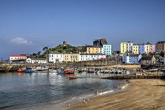 Tenby, Pembrokeshire, South Wales (MarkWoods2) Tags: tenby pembrokeshire southwales wales seaside