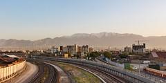 Tehran Skyline 002 (A.S. Kevin N.V.M.M. Chung) Tags: iran skyline horizon tehran mountain alborz tower landscape
